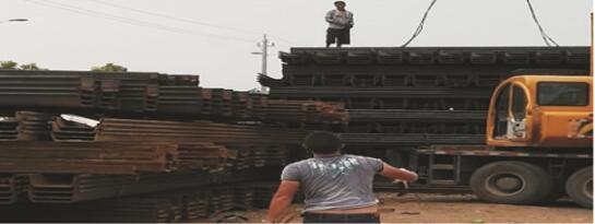海口可靠的海南钢板桩租赁服务公司是哪家-钢板桩出租工程