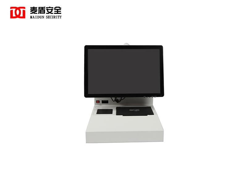 访客机麦盾访客机智能门禁管理系统双屏触摸式访客一体机
