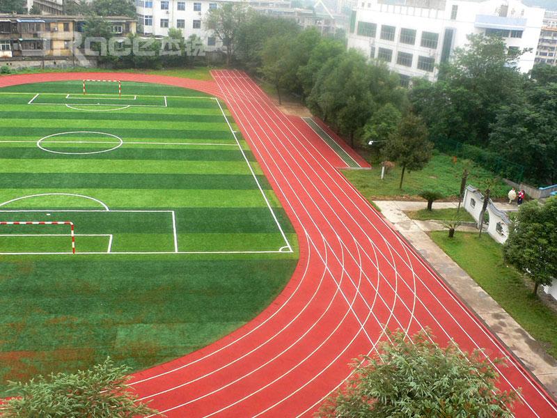 广州杰锐体育水性跑道走近CS碳构水性跑道(2)