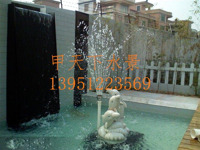 扬州市池塘过滤系统设计。常年无需换水!