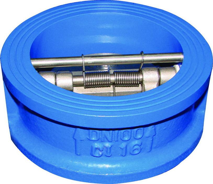 沈阳水泵蝶式止回阀,圆盘薄止回阀,对夹式止回阀批发零售图片