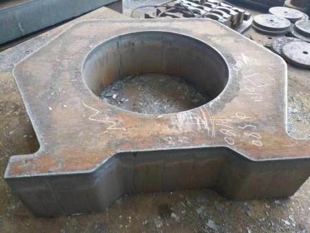 钢板切割各种图形件价格_钢板下料