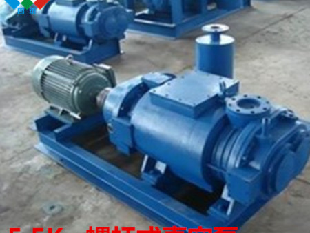水環式真空泵管路安裝正確方法