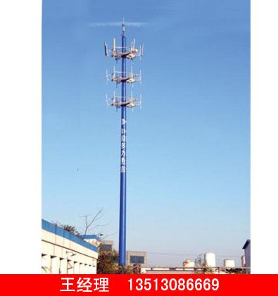 润达供应实惠的独管通讯塔 独管通讯塔厂家直销