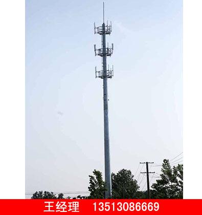 单管通讯塔厂商_耐用的单管通讯塔当选润达