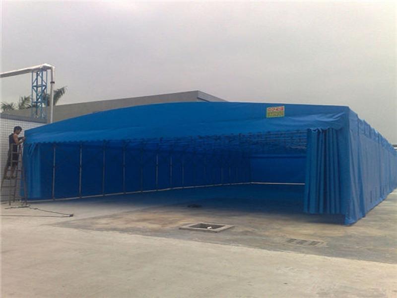 张家港推拉棚生产厂家|造型柔美的移动推拉棚