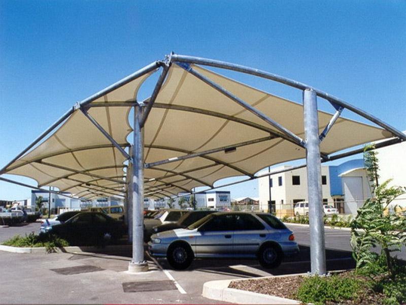 景观棚供应厂家-专业的膜结构景观棚建造