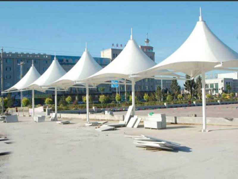 张家港景观棚批发价格|专业的膜结构景观棚建造