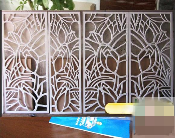 铝合金雕花屏风供应商哪家好_中式家居的铝合金雕花屏风