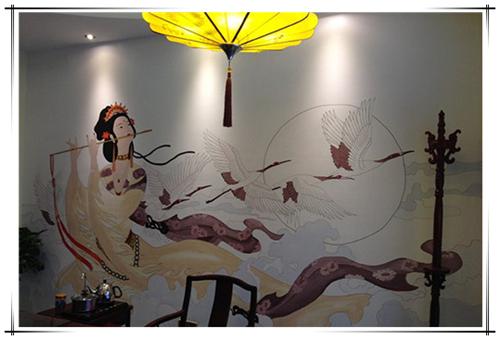 公司为您提供柳州沙发背景墙手绘儿童房卡通墙画,柳州家装彩绘公司,桂