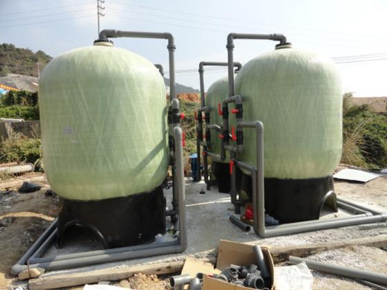 大型农村供水净化水处理设备去除泥沙悬浮物去黄水去腥水过滤器