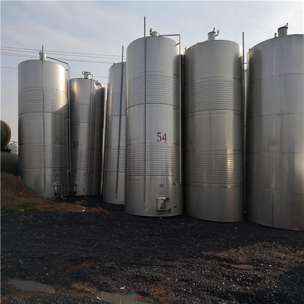 上哪能買到質量好的二手不銹鋼儲罐 -二手50噸臥式不銹鋼罐