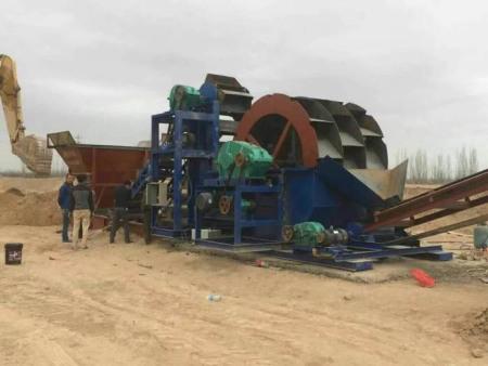 《一寸光阴一寸金》洗风化沙机械,风化沙怎么洗