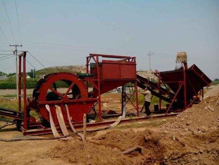 洗风化沙机械_青州山河沙矿洗风化沙价格