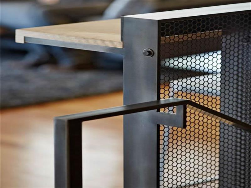隔断铝板穿孔金属网板--安平县万诺丝网