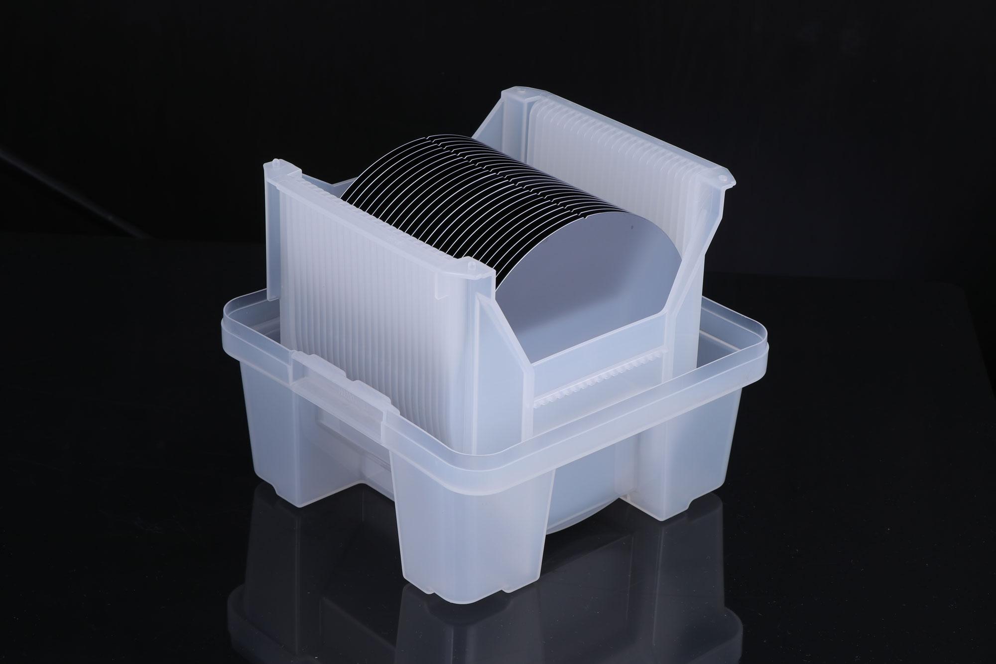 供应8寸半导体单晶硅抛光片