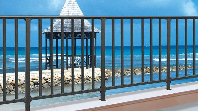 【供销】广西价格优惠的锌钢阳台护栏_广西锌钢护栏