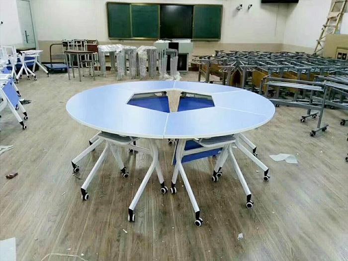 银川哪里有供应银川六角桌,中宁质量好的六角桌送货上门