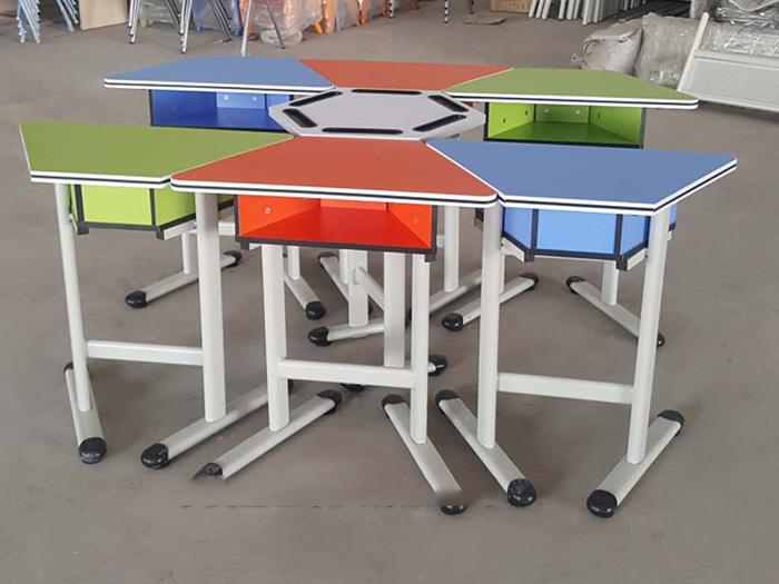 大武口质量好的六角桌厂家直销-要选好银川六角桌-怎能少了宁夏金兰家具