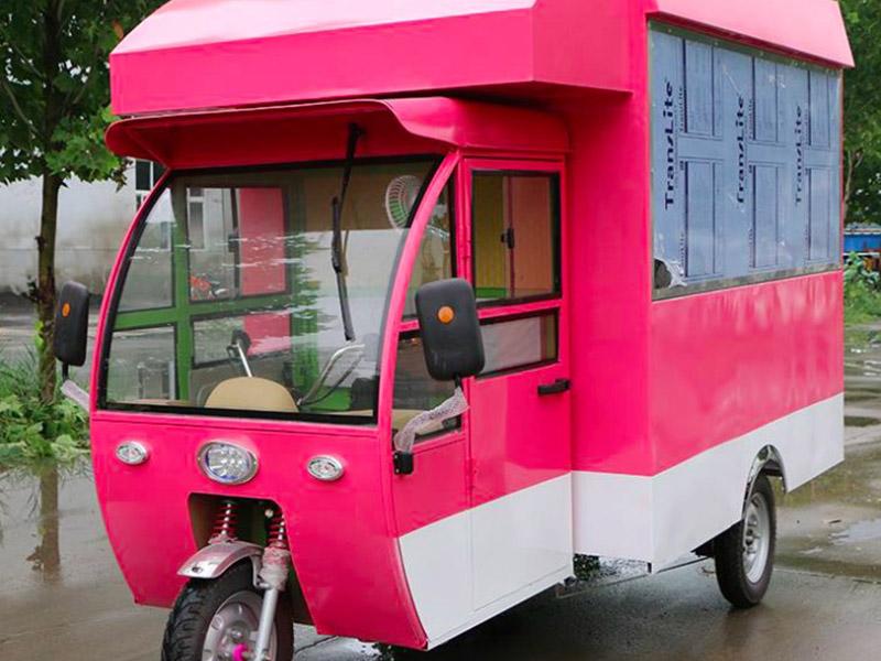 安徽美食车-供应物超所值的电动三轮餐车