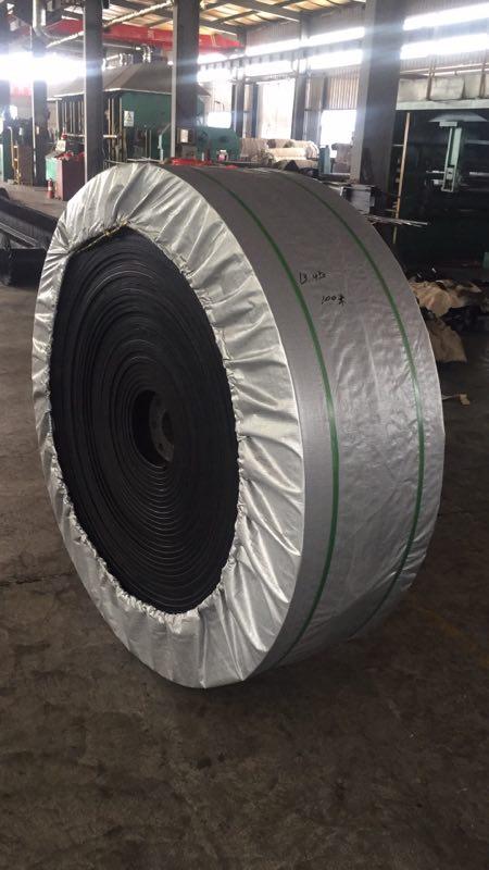 倾销防滑橡胶传送带胶带_高性价尼龙橡胶皮带输送带哪里有供应