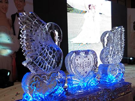 哈尔滨婚礼冰雕厂家-冰雕供应商哪家知名