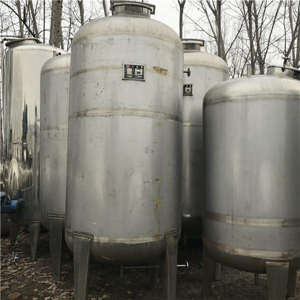 济宁价钱便宜的二手不锈钢搅拌罐哪里有,二手8立方不锈钢搅拌罐