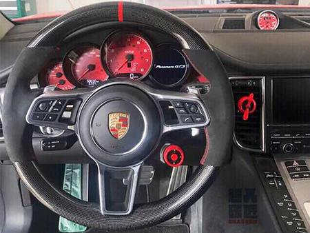 奔驰GLC改装碳纤维方向盘-选质量好的碳纤维方向盘-就到超人汽车改装