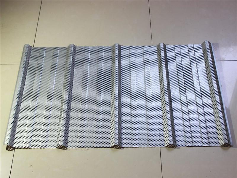 建筑用镀铝锌瓦楞穿孔板--安平县万诺丝网