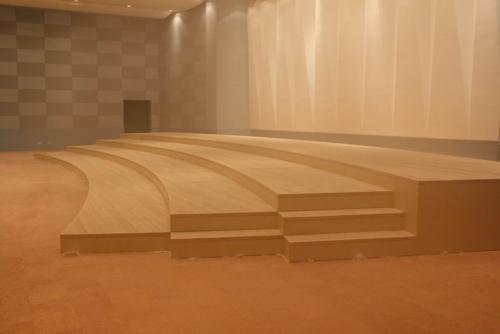 实木舞台地板哪家好,耐用的实木舞台地板沈阳盛鑫源木制品供应