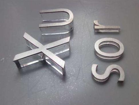 水晶字制作