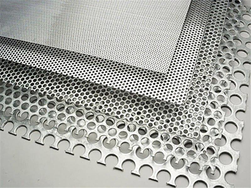 建筑穿孔装饰铝板--安平县万诺丝网
