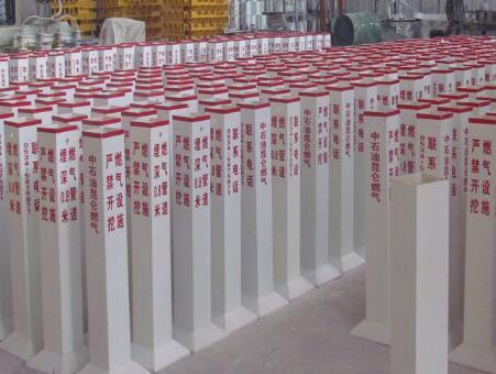 恒烁环保设备提供优质的玻璃钢天然气警示桩|玻璃钢天然气警示桩供应厂家