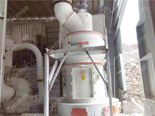 锆英砂雷蒙磨 HC纵摆式磨粉机 铝钒土磨粉机