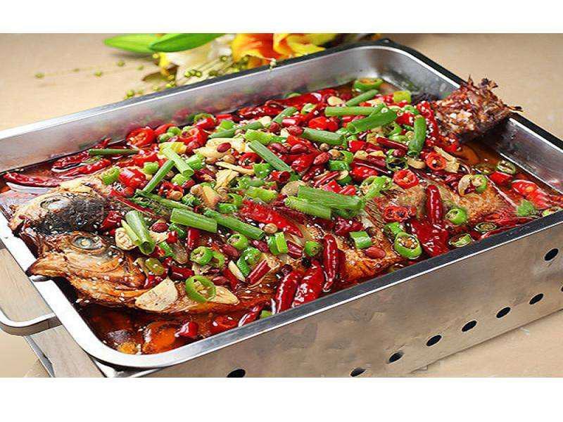 郑州烤鱼培训 就选华百盛特色烤鱼学校 学期短易上手