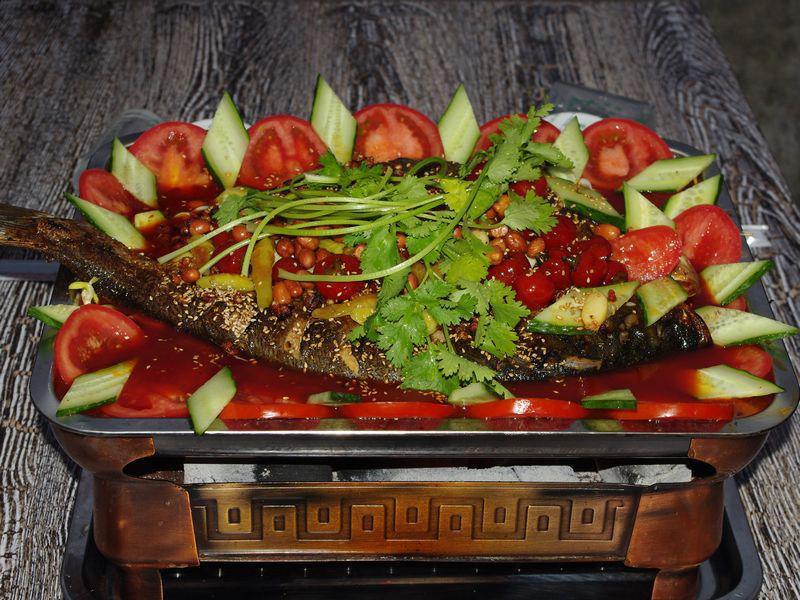 哪里有郑州烤鱼培训——登封烤鱼培训