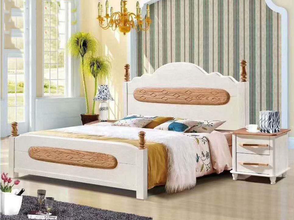 推荐临沂优良实木床-临沂实木餐桌价格