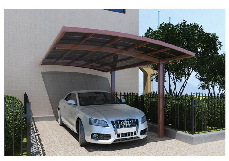 韶关专业的单停车棚,广东信誉好的阳光板雨棚定制公司