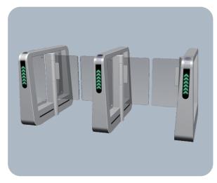 甘肃实名人行道闸系统设计厂家_万敏电子科技供应实惠的兰州实名人行道闸系统