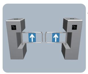 甘肅實名人行道閘系統_報價合理的蘭州實名人行道閘系統廠家直銷