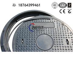 山东厂家生产高品质树脂井盖|圆形井盖|D400加油站井盖