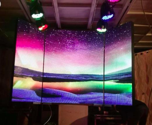 哪有合格的强力巨彩显示屏厂家|户外N3.91全彩LED显示屏