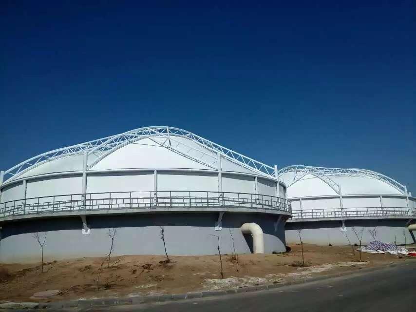 山东污水池覆盖膜结构-山东专业的污水处理膜结构公司