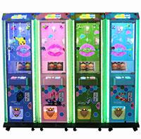 小型礼品类游戏机礼品秀螺旋杆挂礼品贩卖机