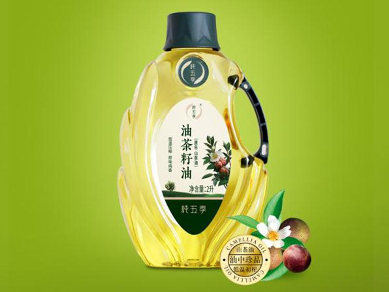 纯五季2L茶籽油食用植物油,植物油生产厂家
