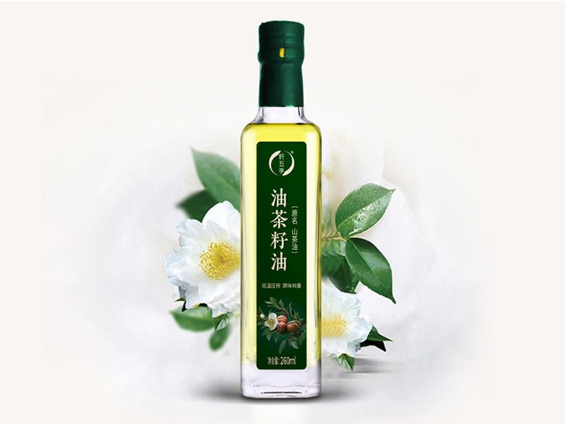 纯五季茶籽油