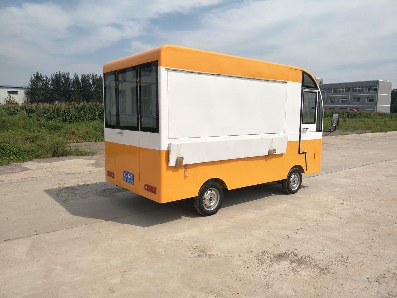 爆款冷饮餐车推荐_供销景区餐车