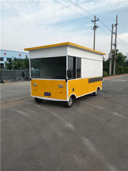 德州新型的奶茶餐车出售_价位合理的饭店餐车