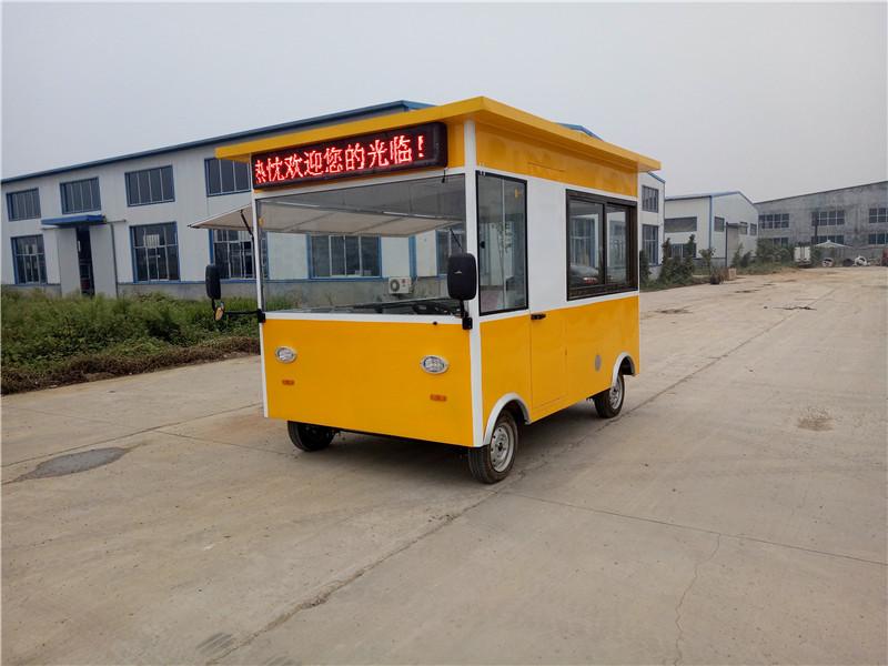 爱心餐车直销电动小吃餐车-汽车移动餐车价格