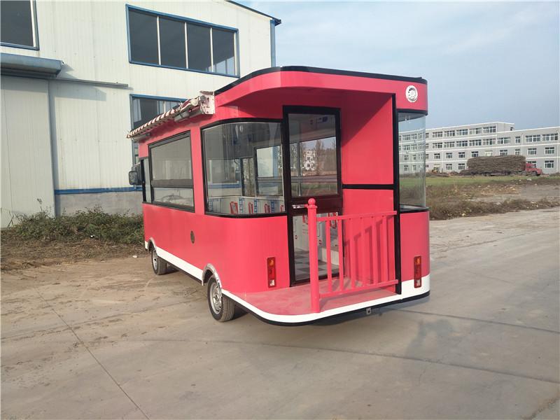 山东划算的电动小吃餐车供应 汽车餐车价格